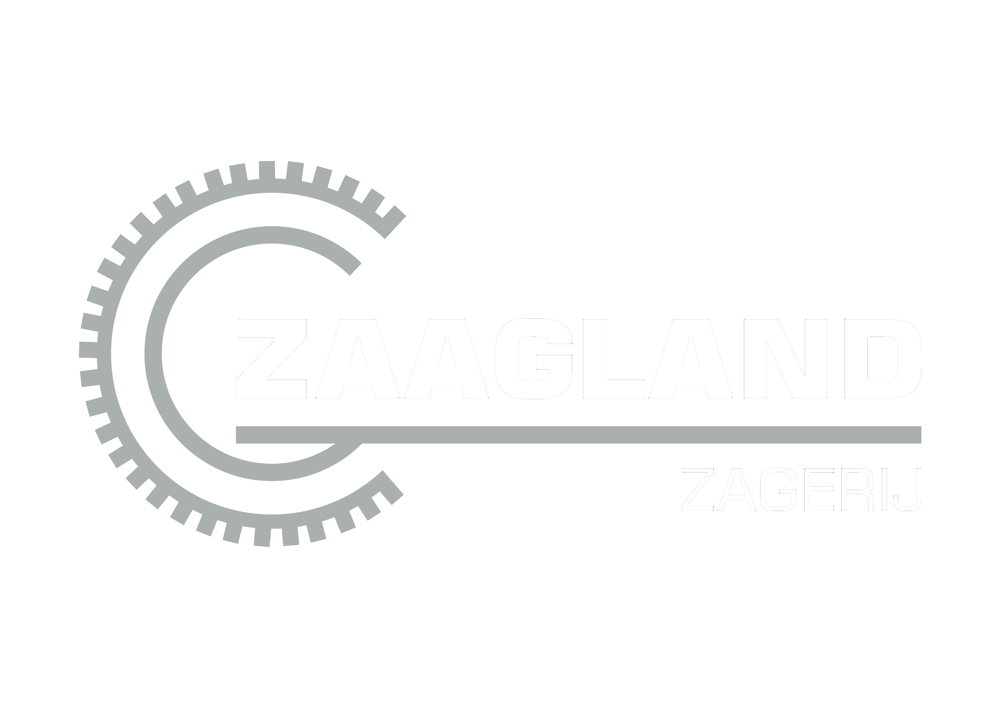 Zaagblad-wit